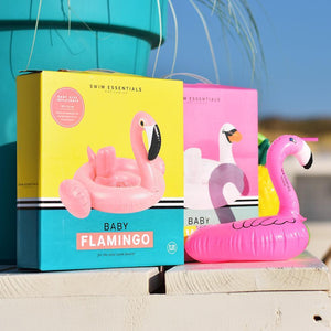 Inflatable Pink Flamingo Drink Holder