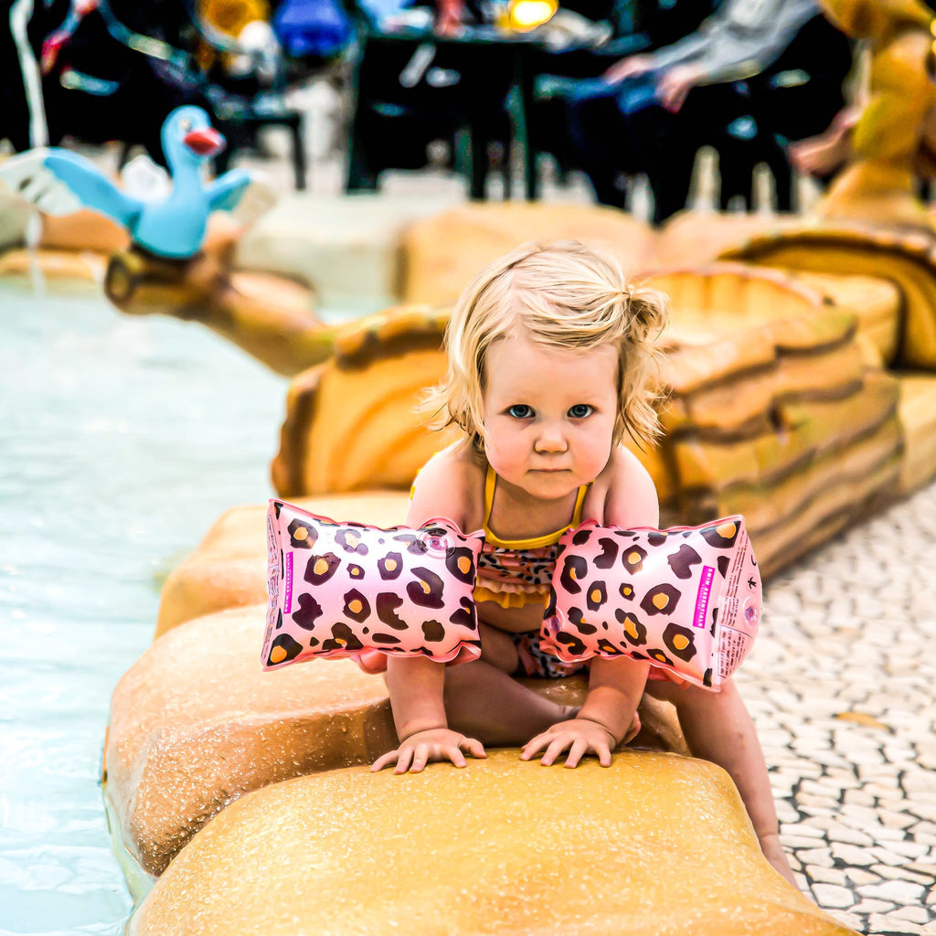 Inflatable Leopard 0-2 Years Armbands