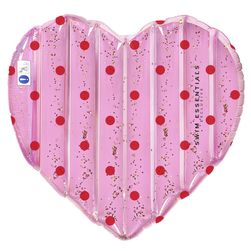 Inflatable Heart Dots Float