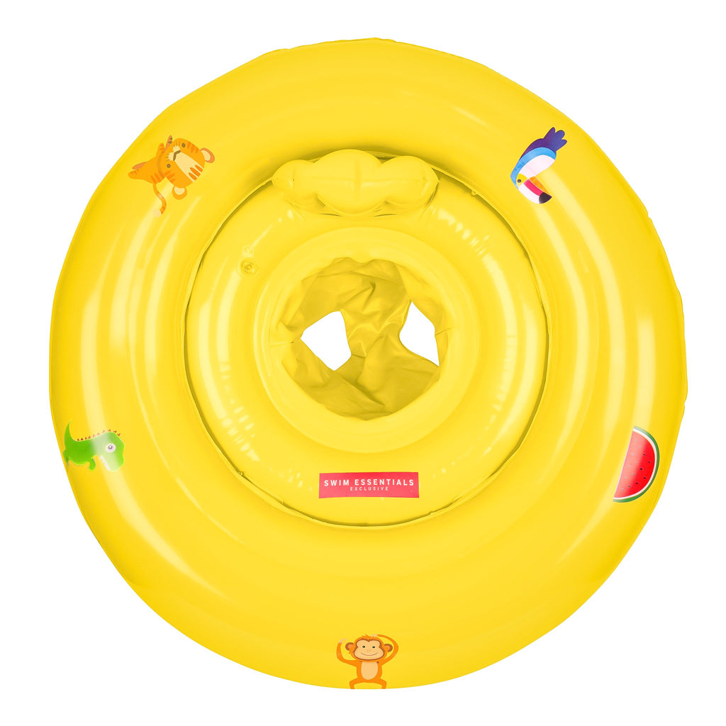 Inflatable Yellow Baby Swim Seat