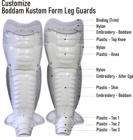 Boddam Kustom Form Leg Guards - Cat 3 (Custom)