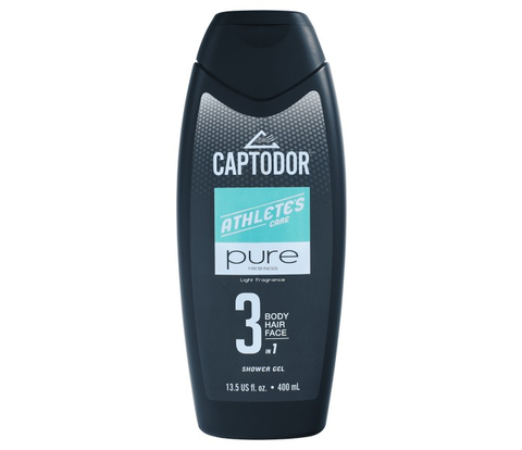 Captodor Shower Gel 3-in-1
