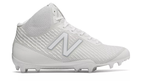 New Balance Burn X Cleats - White