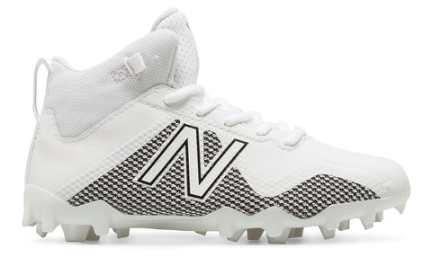 New Balance Freeze 2.0 Junior Cleats - White