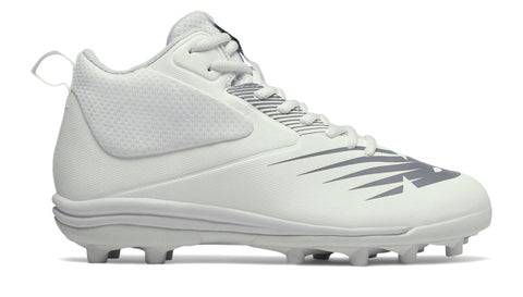 New Balance Rush Cleats Youth - White