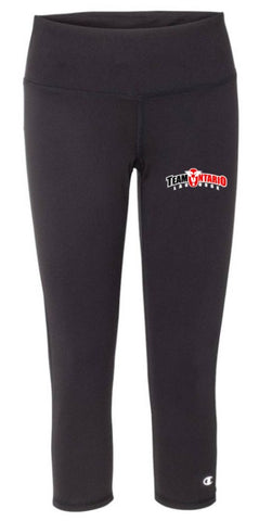 Team Ontario Women's Capri Leggings
