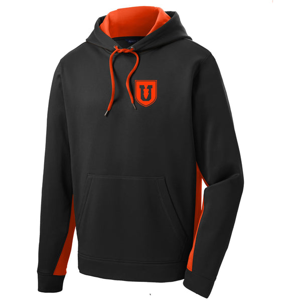 Bass U Sport-Wick® Fleece Colorblock Hooded Pullover