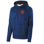 Bass U PosiCharge® Electric Heather Fleece Hooded Pullover