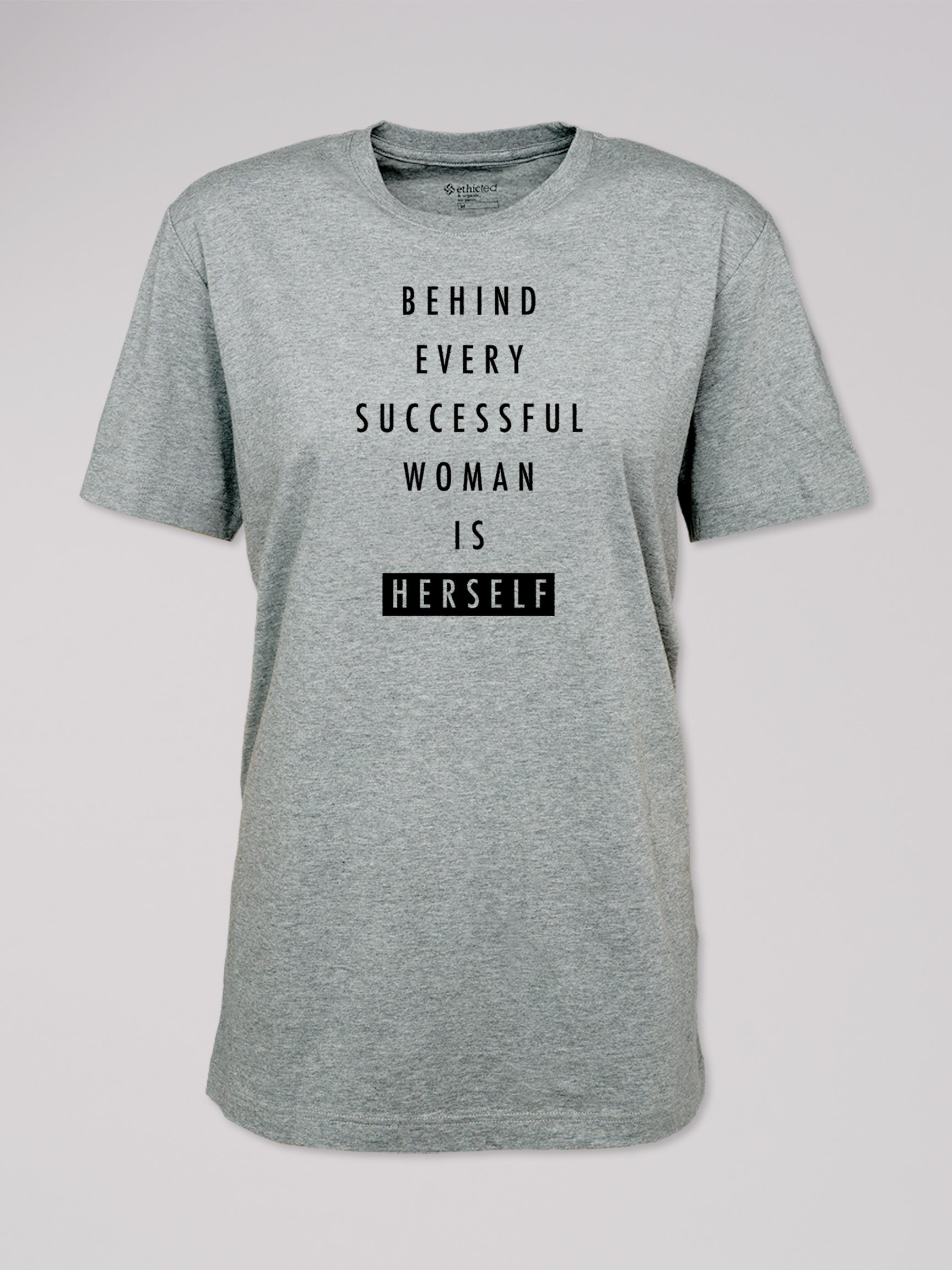 "T-Shirt Logo ""behind every woman"""
