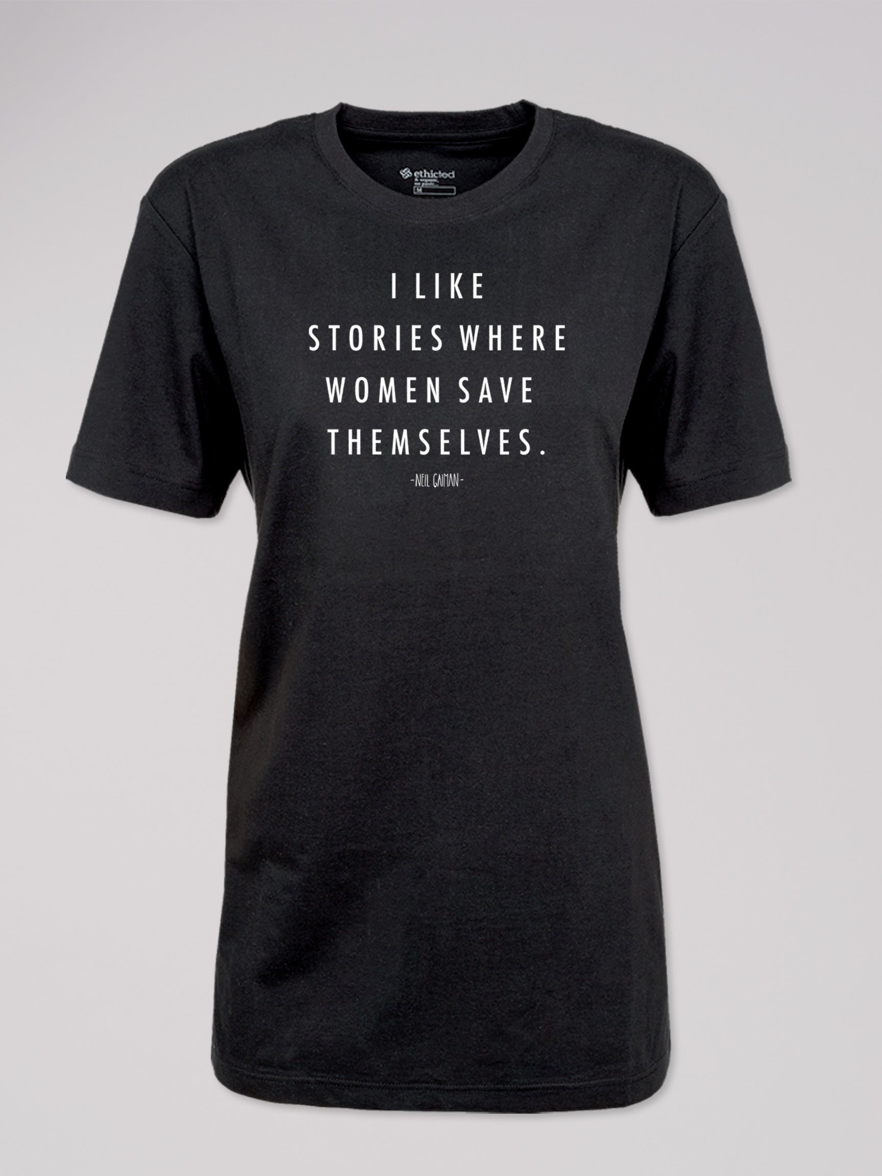 "T-Shirt Logo ""I like stories..."""