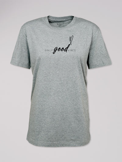 "T-Shirt Logo ""Only Good Vibes"""