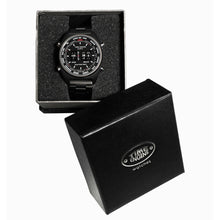 Load image into Gallery viewer, Time Engine Drum Watch - Stainless Steel Case with Black Rubber Band