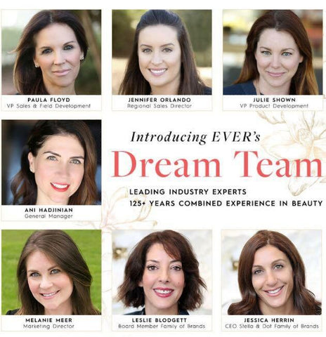 Ever Skin Care - About - Founders - Marketing Team