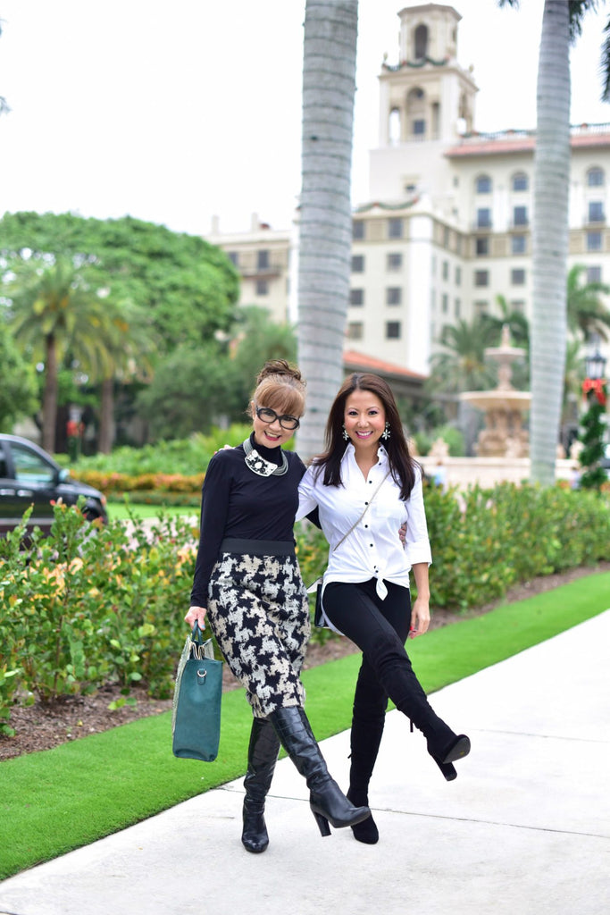 ASIAN MOM AND DAUGHTER, LIFESTYLE, MOM TIPS, FLORIDA FASHION