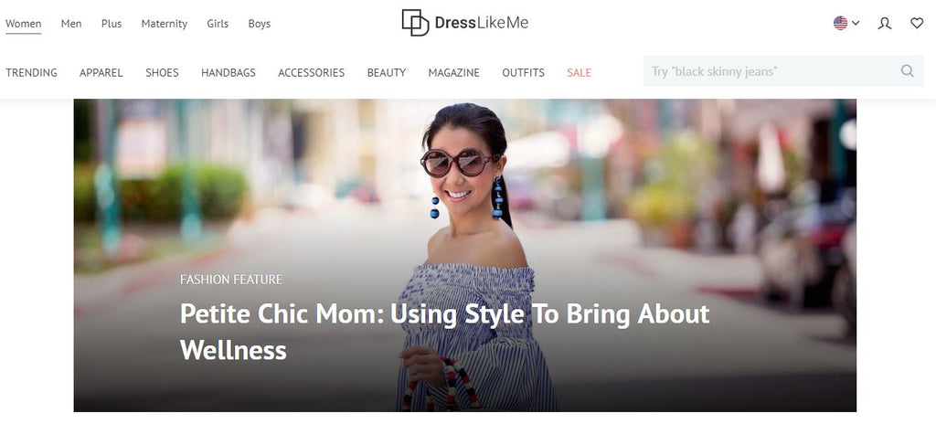 Petite Chic Mom - Janet Nguyen Sperry - Dress Like Me Feature