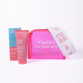 Sand & Sky Australian Pink Clay Flash Perfection Exfoliating Treatment Kit