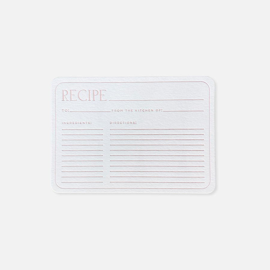 Recipe Cards 5-pack