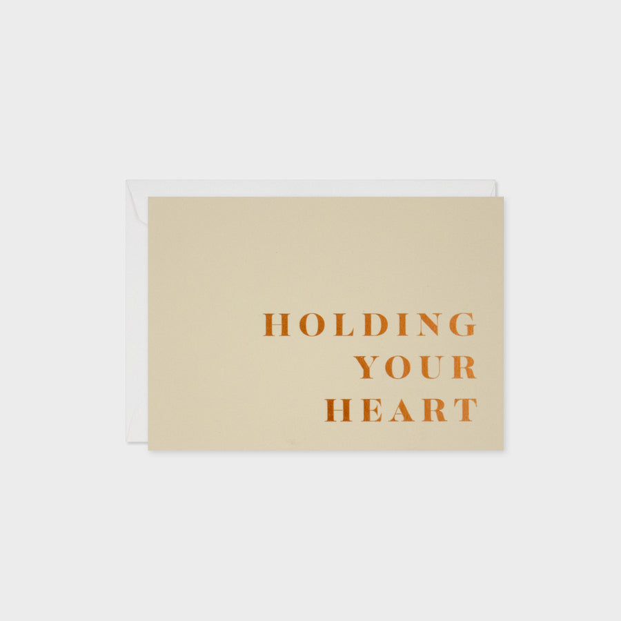 Holding Your Heart