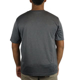 MEN'S TRAINER TEE IN HEATHER GREY