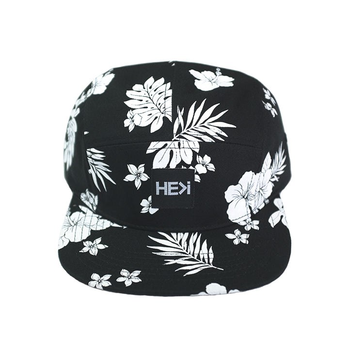 ALOHA CAMPER HAT IN BLACK