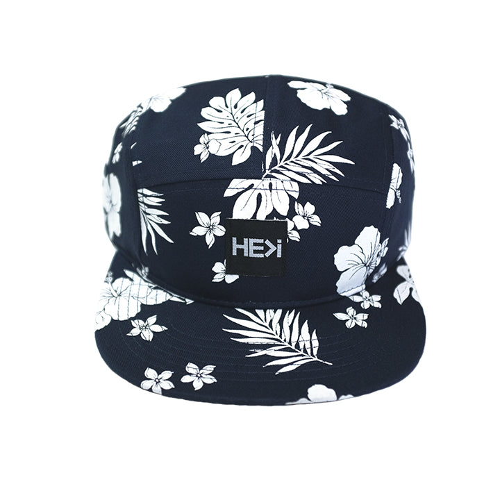 ALOHA CAMPER HAT IN NAVY