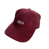 DAD HAT IN MAROON