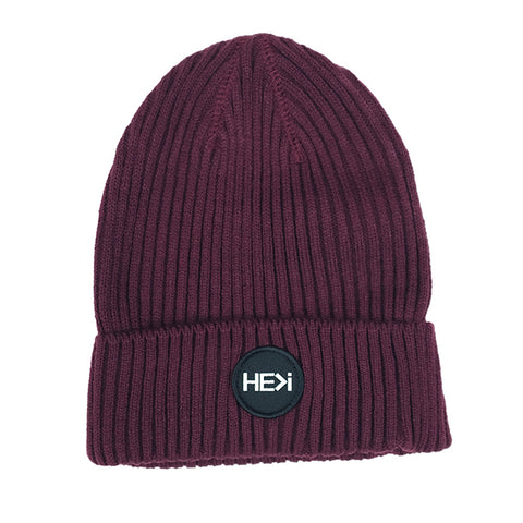 BOX LOGO SNAPBACK HAT IN MAROON