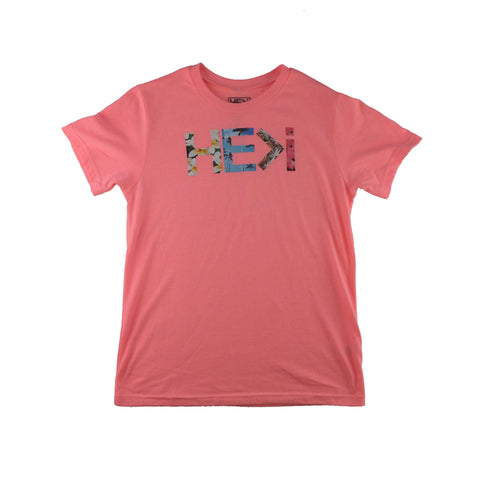 KID'S LOGO TEE IN BUBBLEGUM