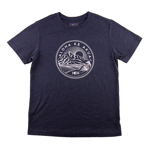 MEN'S GARAGE TEE IN HEATHER GREY