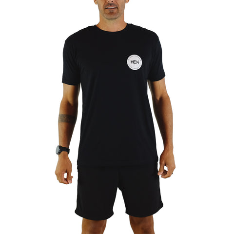 MEN'S PARADISE LOGO TEE IN BLACK