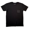 MEN'S GALAXY POCKET TEE IN BLACK