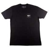 MEN'S GARAGE TEE IN BLACK