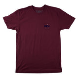 MEN'S GARAGE TEE IN MAROON