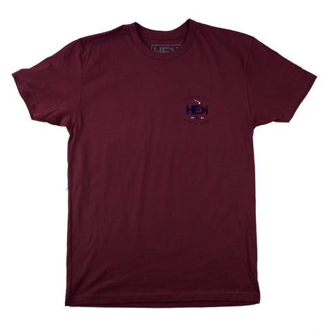 MEN'S 330 RAGLAN IN ARCTIC HEATHER/NAVY