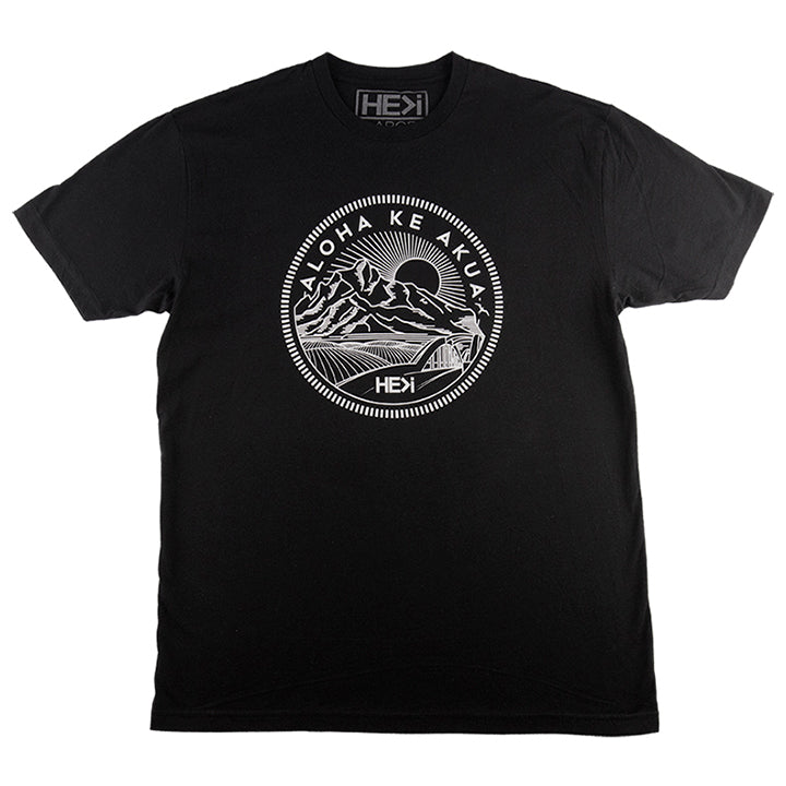 MEN'S KA'ENA TEE IN BLACK