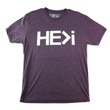 MEN'S LOGO TEE IN VINTAGE PURPLE