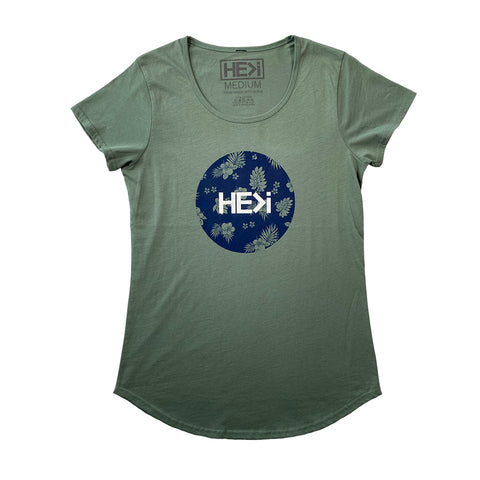 WOMEN'S ANUENUE TEE IN INDIGO