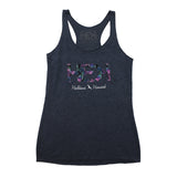 WOMEN'S HOMETOWN TANK IN VINTAGE NAVY