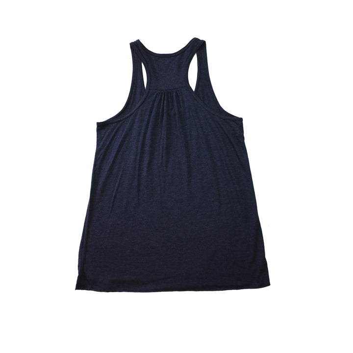 WOMEN'S VINE TANK IN HEATHER NAVY
