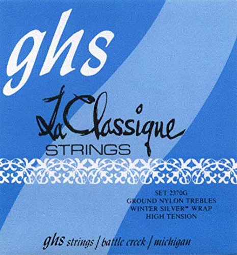 2370G GHS LaClassique Classical Guitar Strings Ground Nylons / Winter Silvers - High Tension