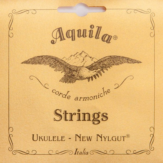4U Aquila Soprano Ukulele Strings Regular - All Nylgut
