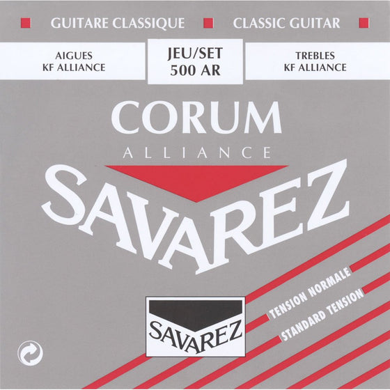500AR Savarez Alliance Corum String Set - Normal Tension