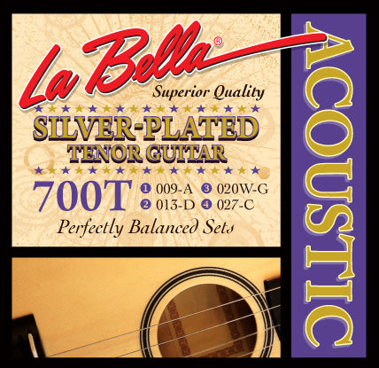 700T LaBella Tenor Acoustic Guitar Strings