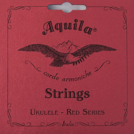 86U Aquila Concert Ukulele Set - Red Series w/ Low G
