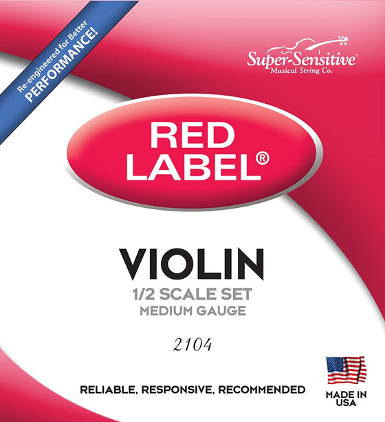 Super Sensitive Violin String Set - 1/2