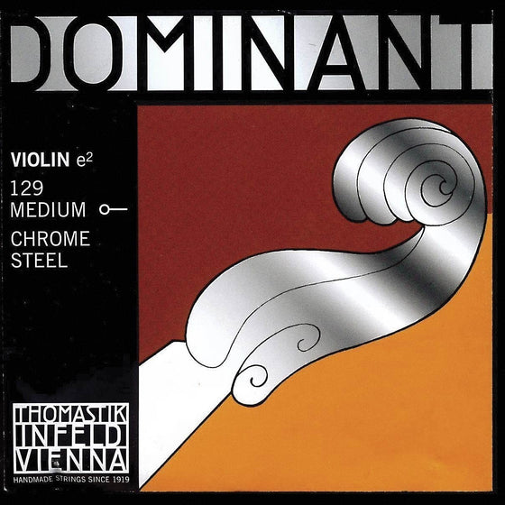 Dom130 4/4 Violin E String - Ball