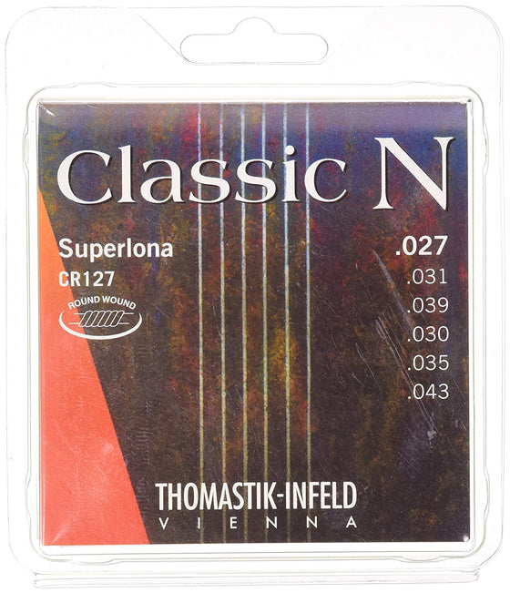 CR127 Thomastik N Series Round Wound Classical Guitar Set - Normal