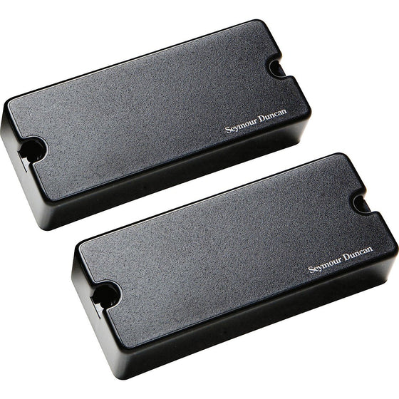 11106-38-B-7STR Seymour Duncan AHB-1S Blackouts 7 String Phase 2 Pickup Set - Black