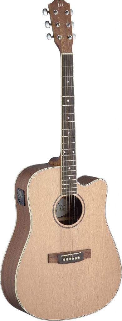 ASY-DCE James Neligan Solid Spruce Top Acoustic Guitar - Cutaway w/ EQ