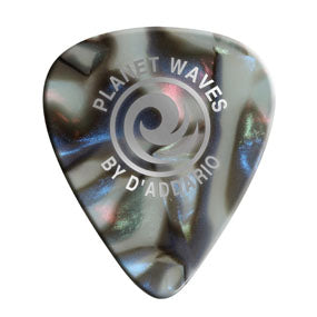 1CAB6-25 Celluloid Picks in Abalone - 25 Pack